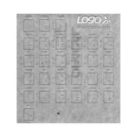 Prelepky na klávesnice, biele, česko-slovenské, vhodné pre notebook