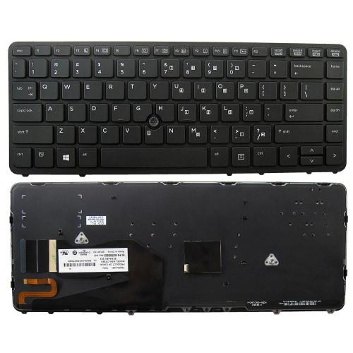 Klávesnica pre HP COMPAQ Elitebook 840 850 G1 G2, podsvietená