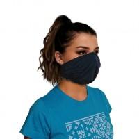 Ochranné rúško elastické antibakteriálne modré