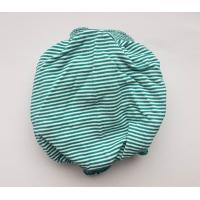 Ochranné rúško elastické antibakteriálne antivirálne tyrkysovo-biele